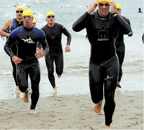 Coureur de triathlon